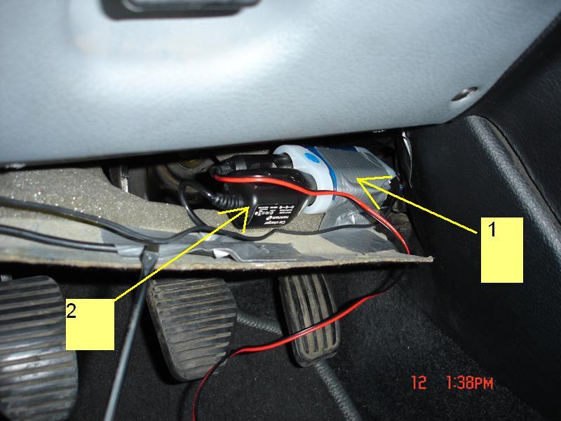 TUTO: Installation d'un GPS fixe dans la voiture Pic5